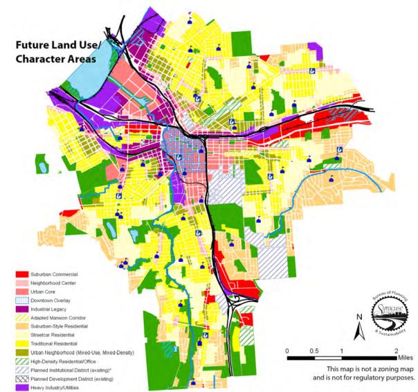 LUDP map