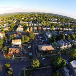 Drone photo of Tipperary Hill