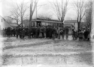 First trolley to Liverpool, 1903