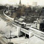 Syracuse elevated rail line